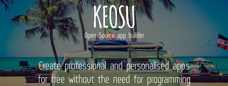 Crear gratis su app Android o iPhone con Keosu