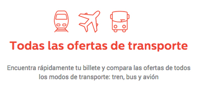 Gopili: Todas las ofertas de transporte
