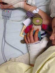 Un Doudou en el hospital